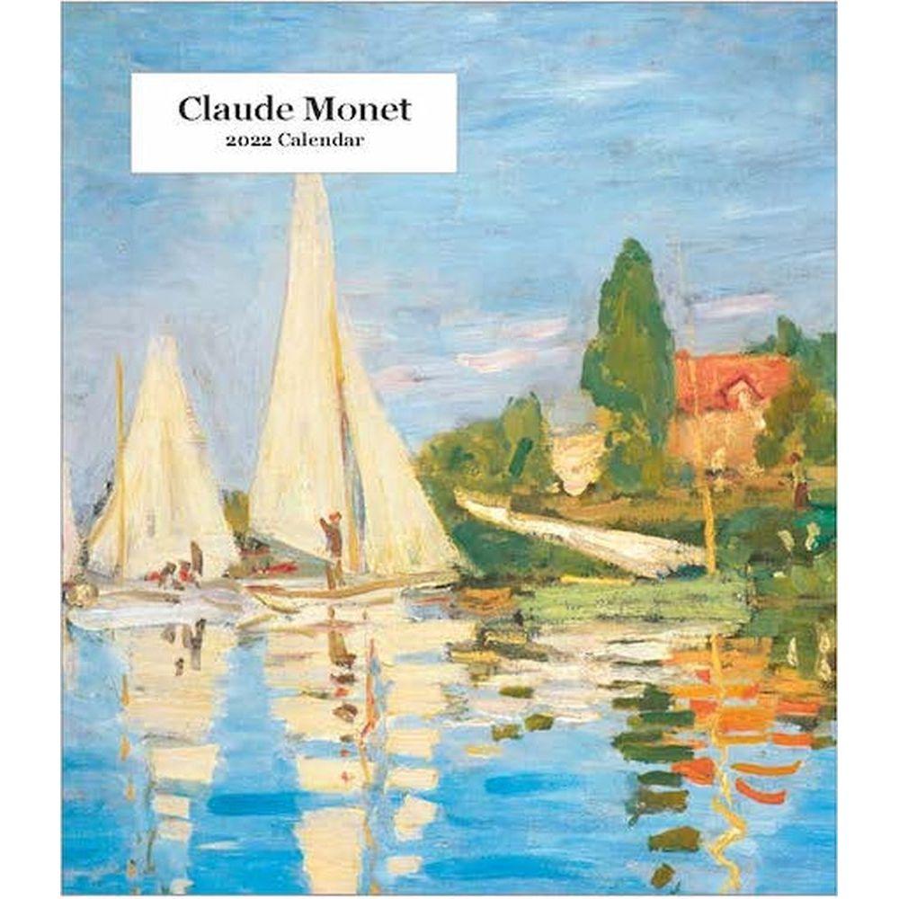 Claude Monet 2022 Desk Calendar
