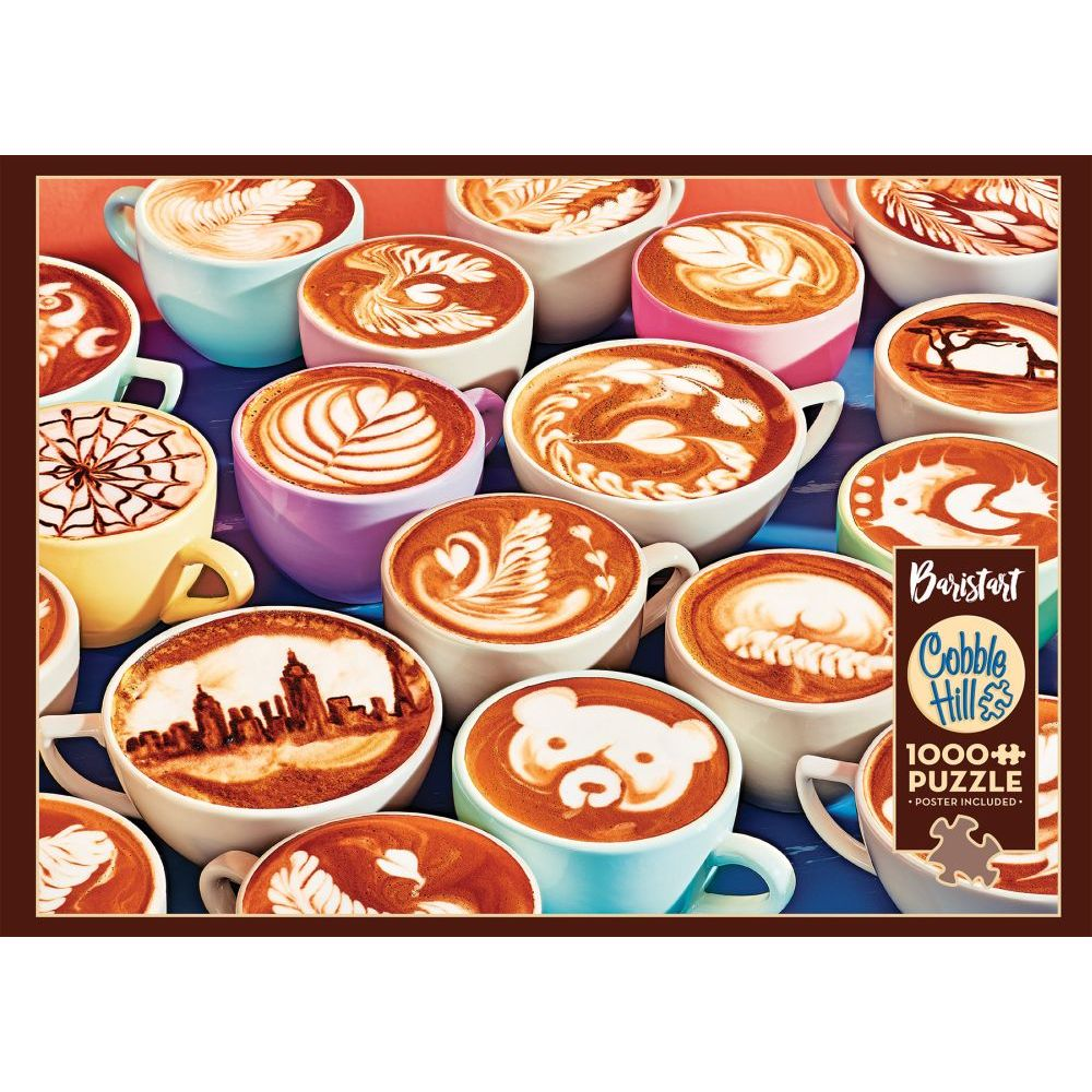 Best Barista Art 1000pc Puzzle You Can Buy