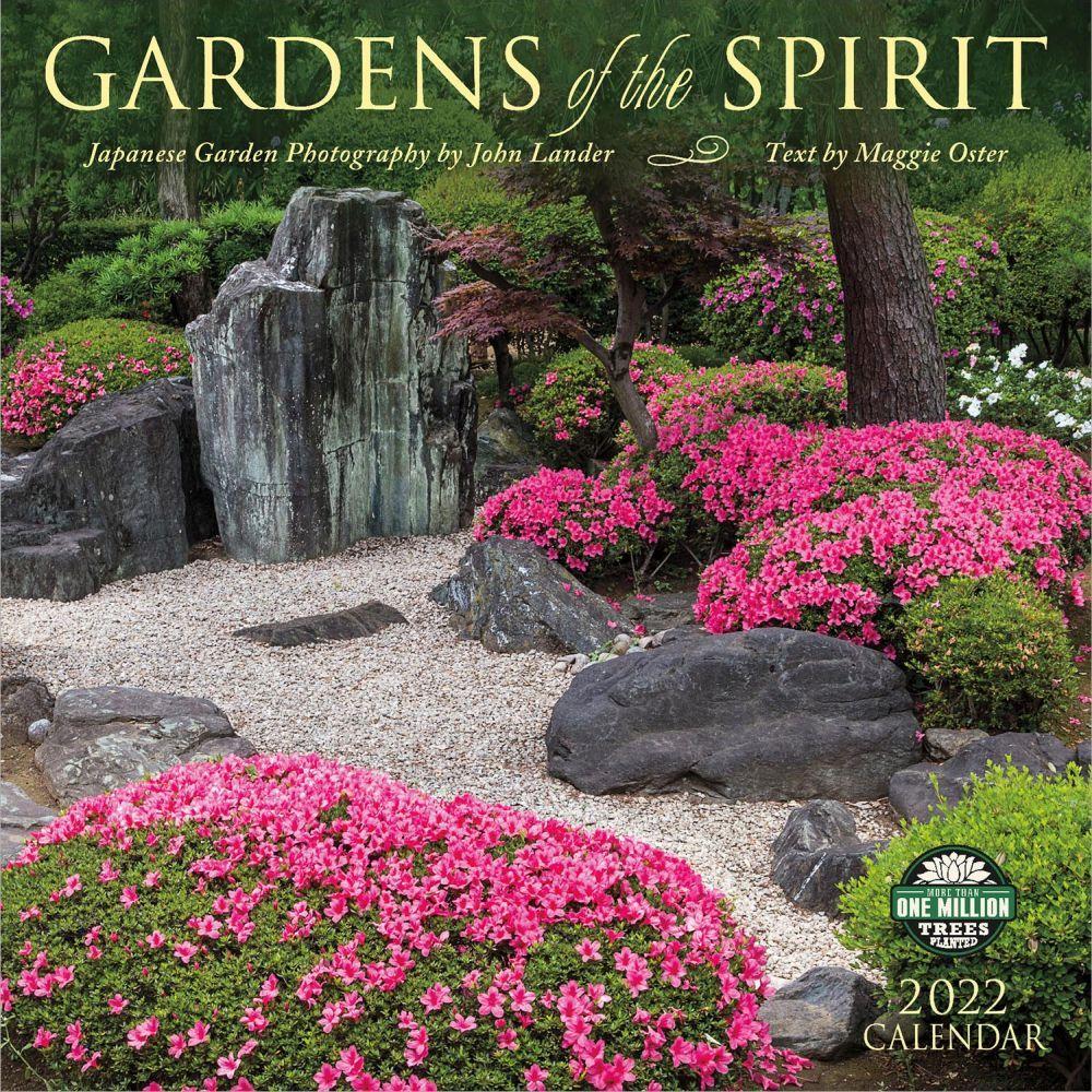 Gardens of the Spirit 2022 Wall Calendar