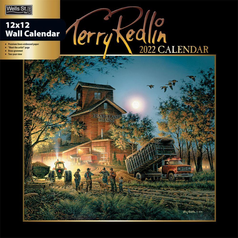Terry Redlin 2022 Wall Calendar