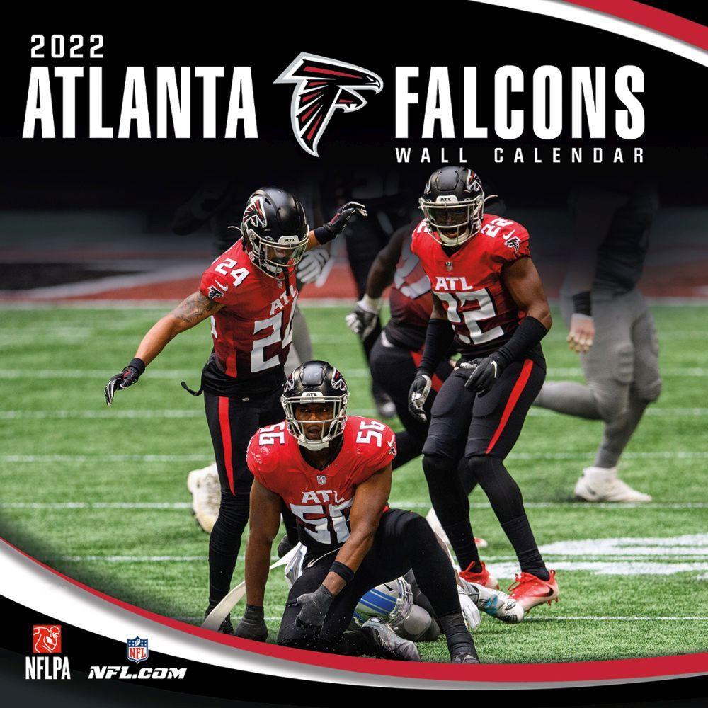 Atlanta Falcons 2022 Wall Calendar