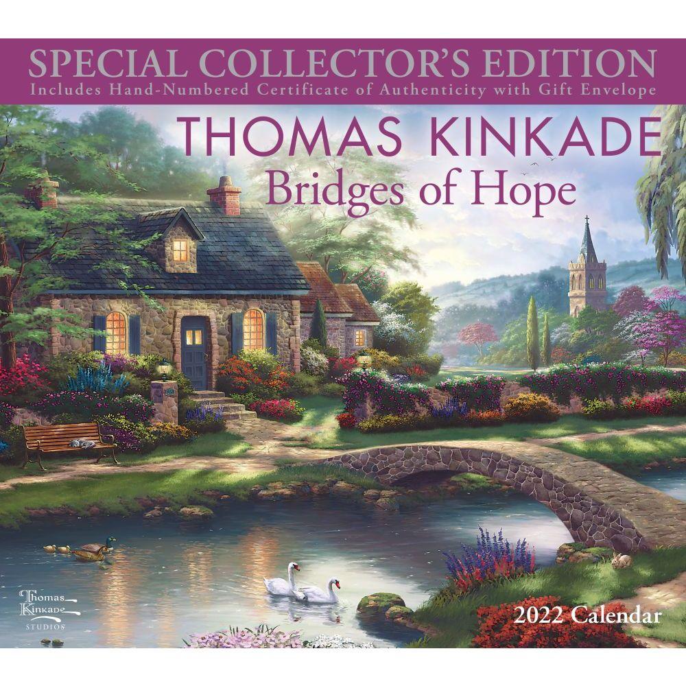 Thomas Kinkade Special Collector's Edition 2022 Wall Calendar