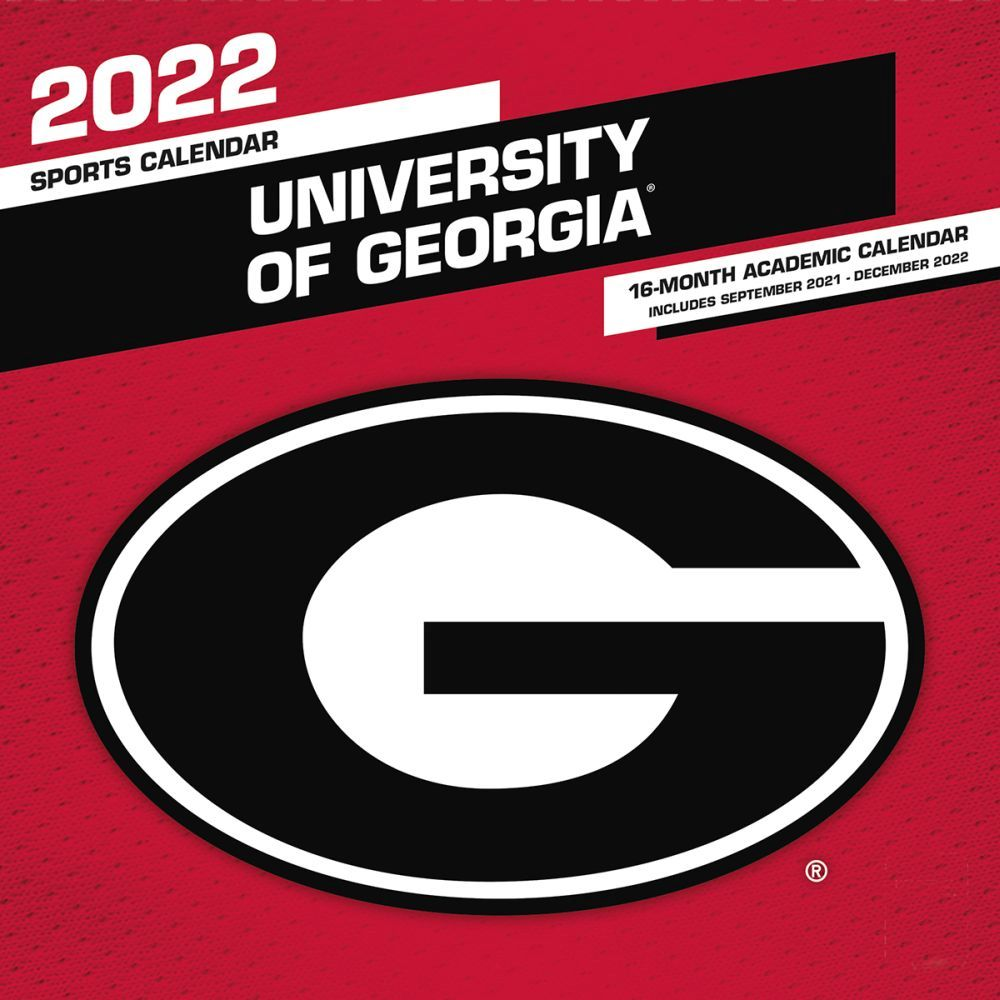 University of Georgia Bulldogs 2022 Wall Calendar