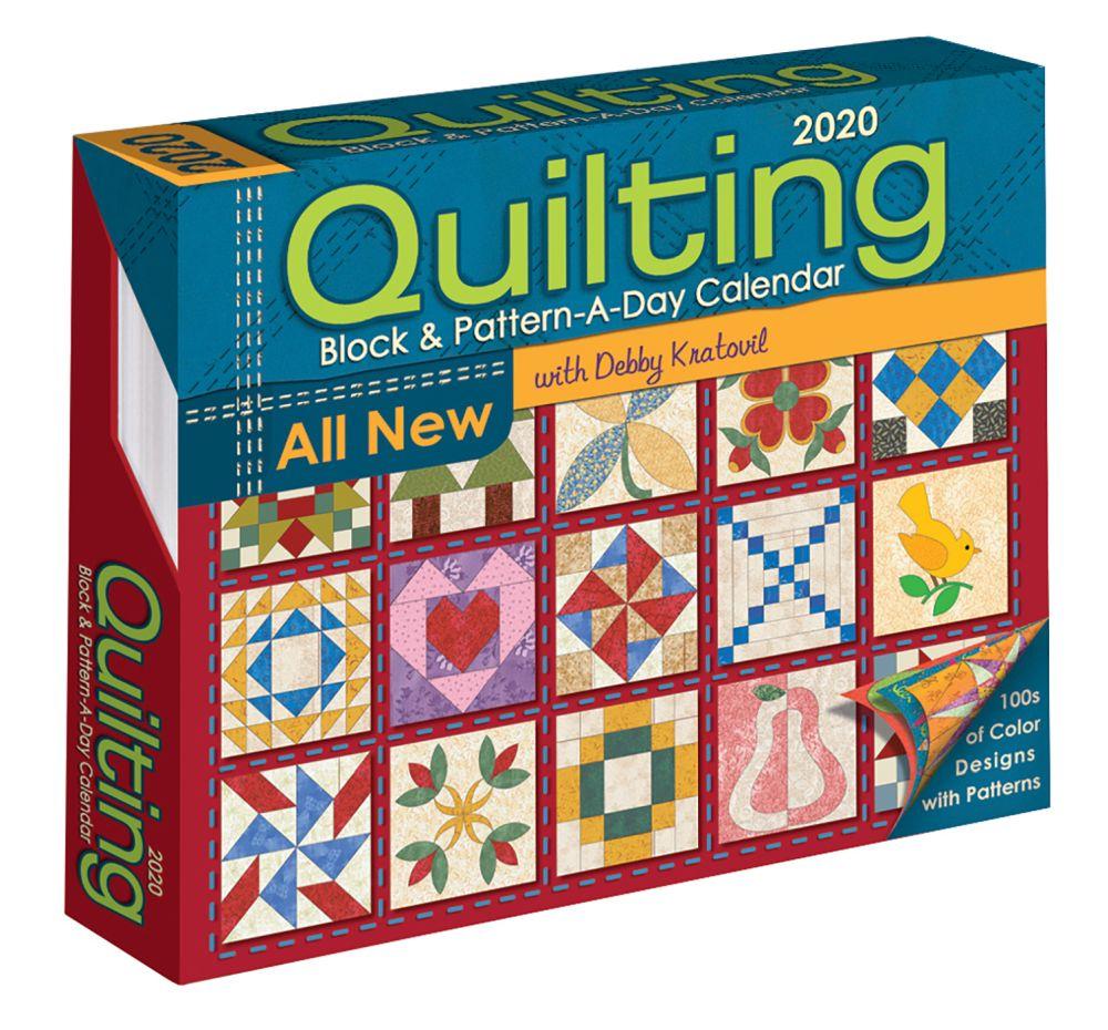 Quilting Pattern-a-Day 2021 Desk Calendar
