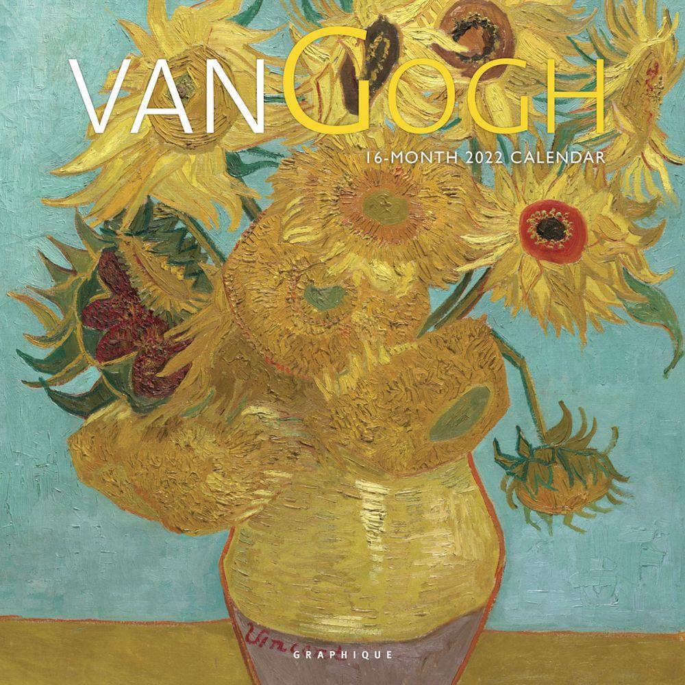 Vincent Van Gogh 2022 Wall Calendar