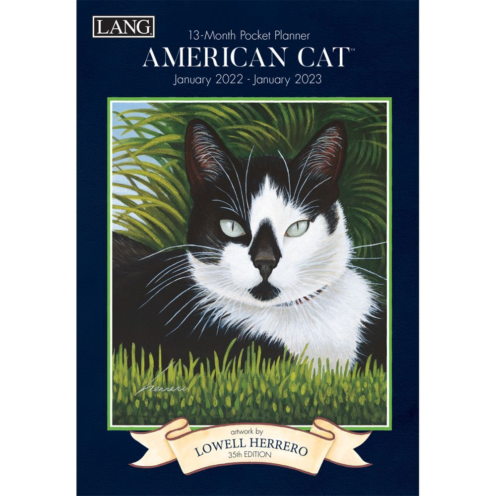 American Cat Monthly 2022 Pocket Planner