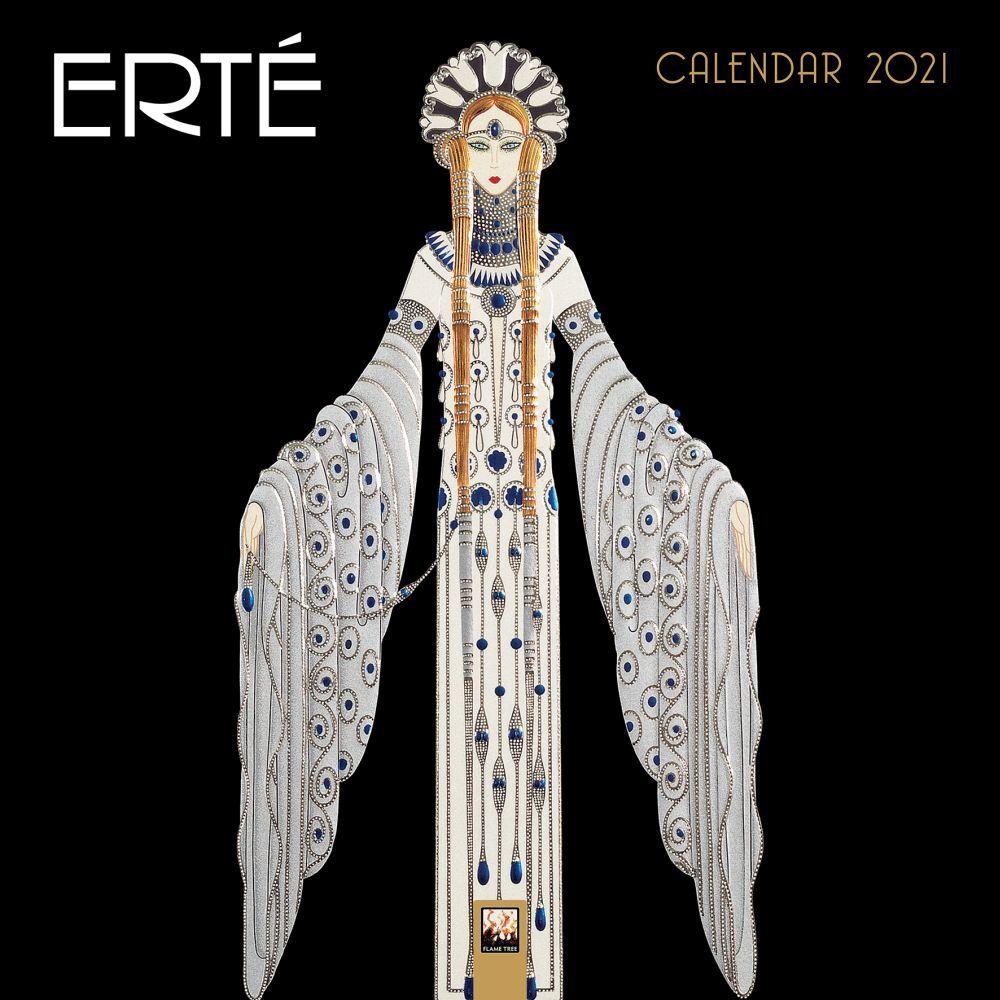 2021 Erte Wall Calendar