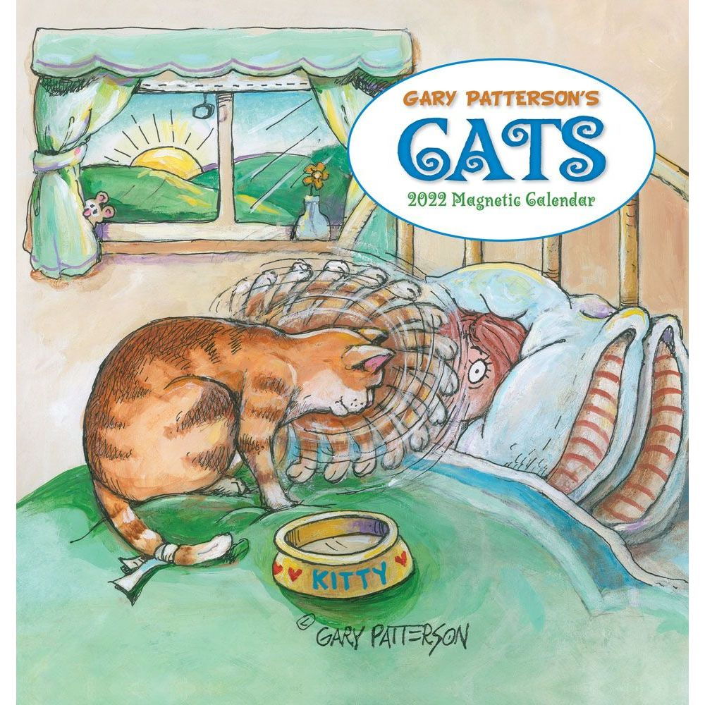 Patterson Cats 2022 Magnetic Calendar