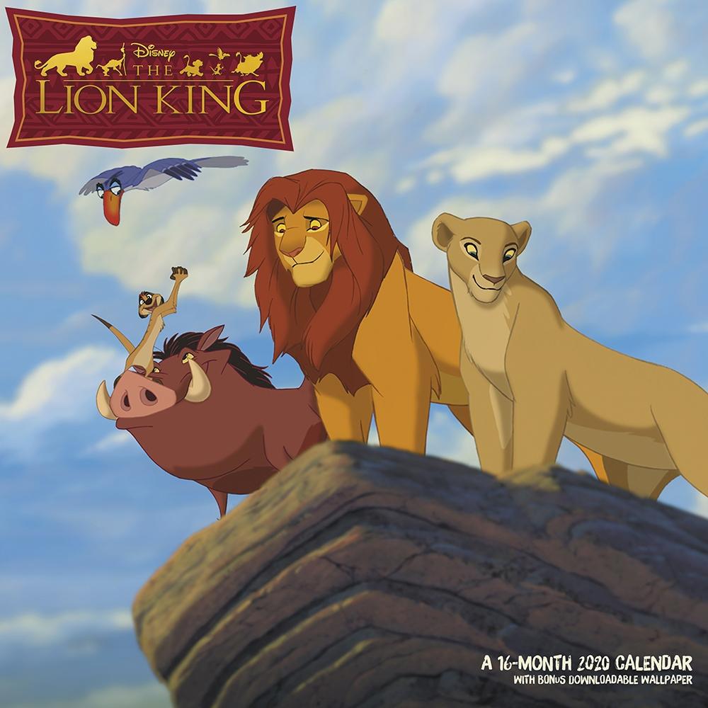 Lion King 2021 Wall Calendar