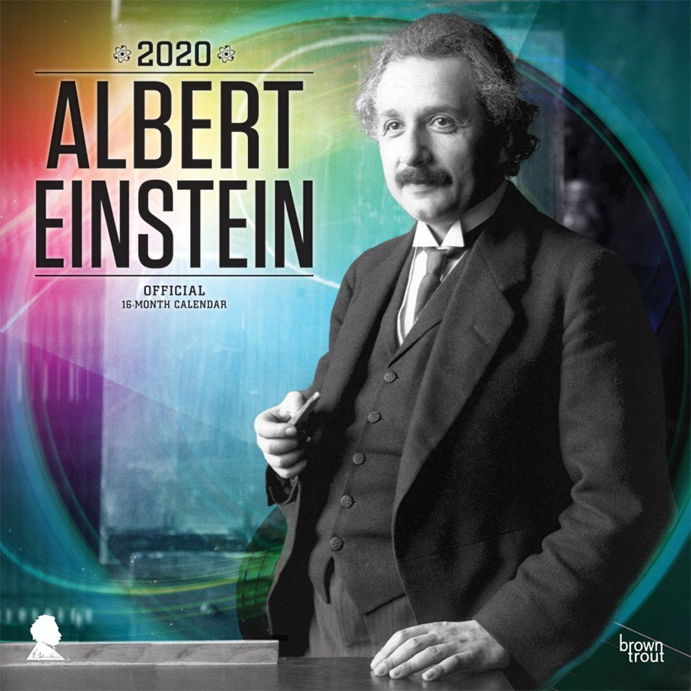 Albert Einstein 2021 Wall Calendar