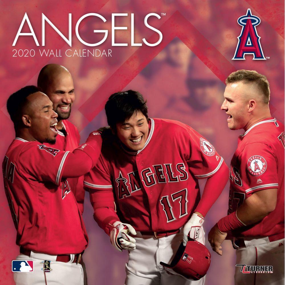 Los Angeles Angels of Anaheim 2021 Wall Calendar
