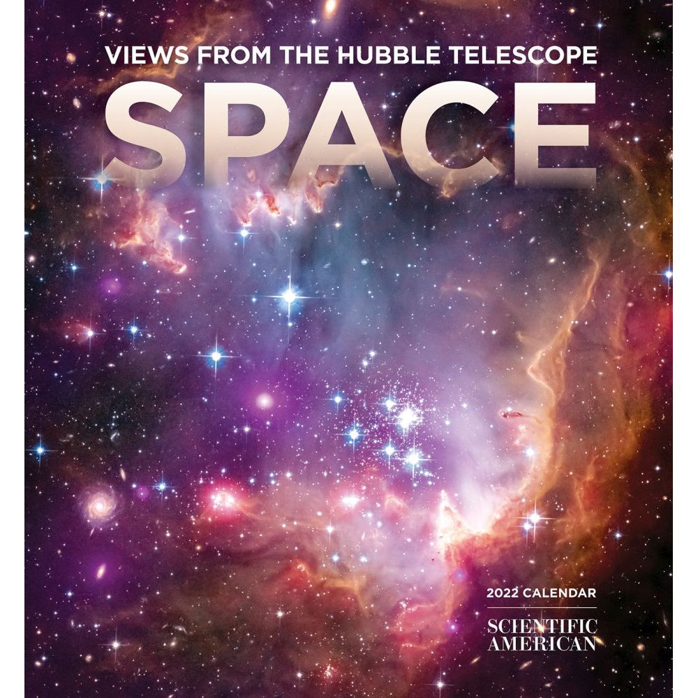 Space Hubble Telescope 2022 Mini Wall Calendar