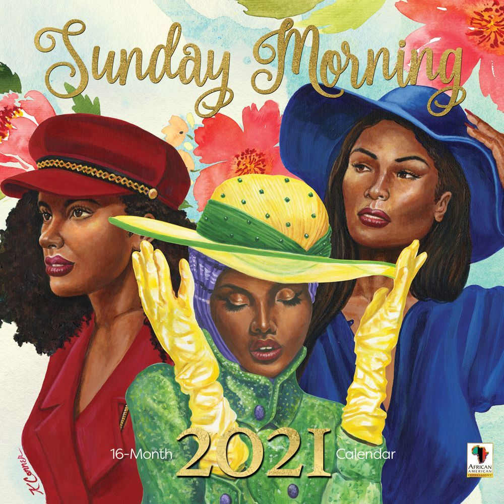 2021 Sunday Morning Wall Calendar