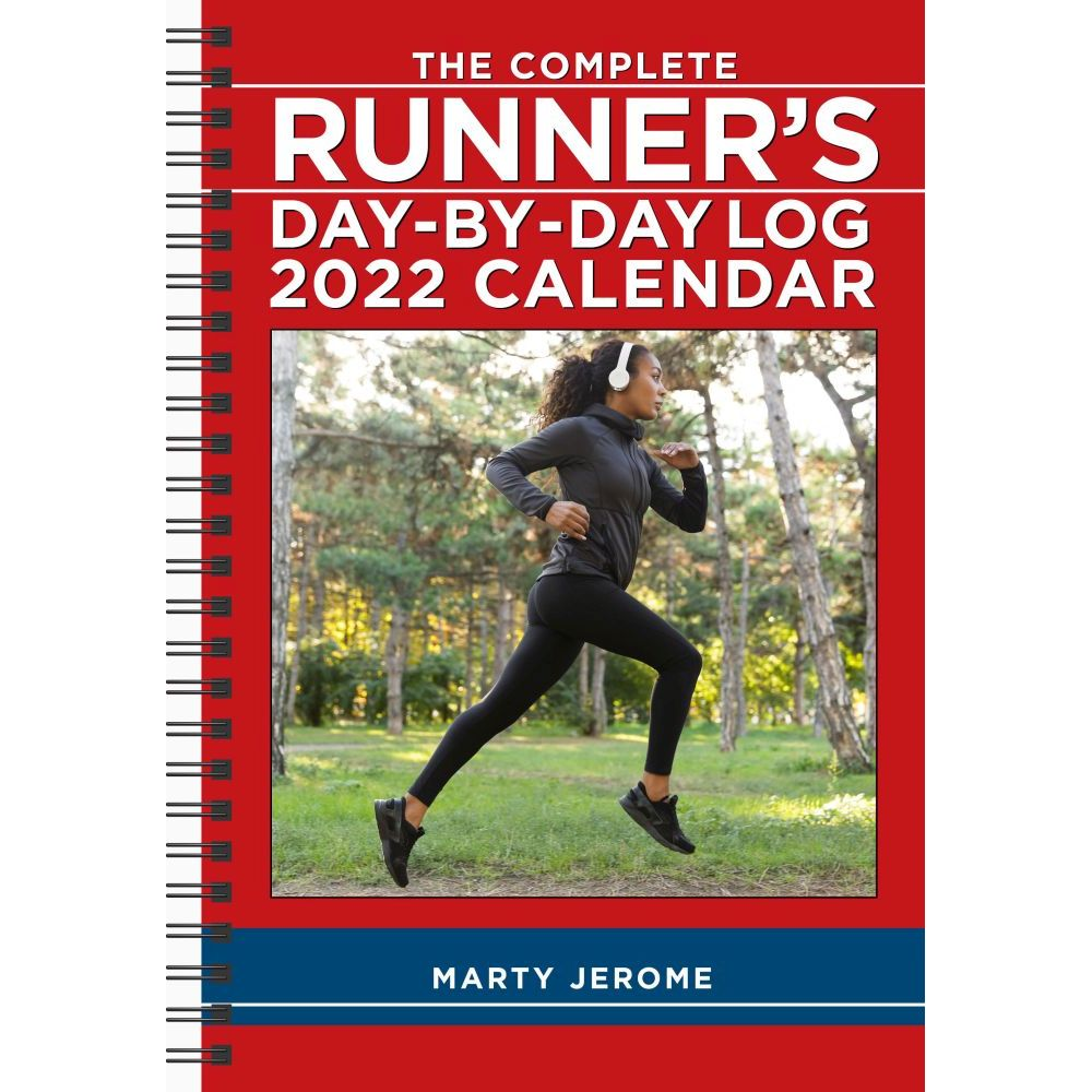 Complete Runner's Day-By-Day Log 2022 Softcover Engagement Calendar