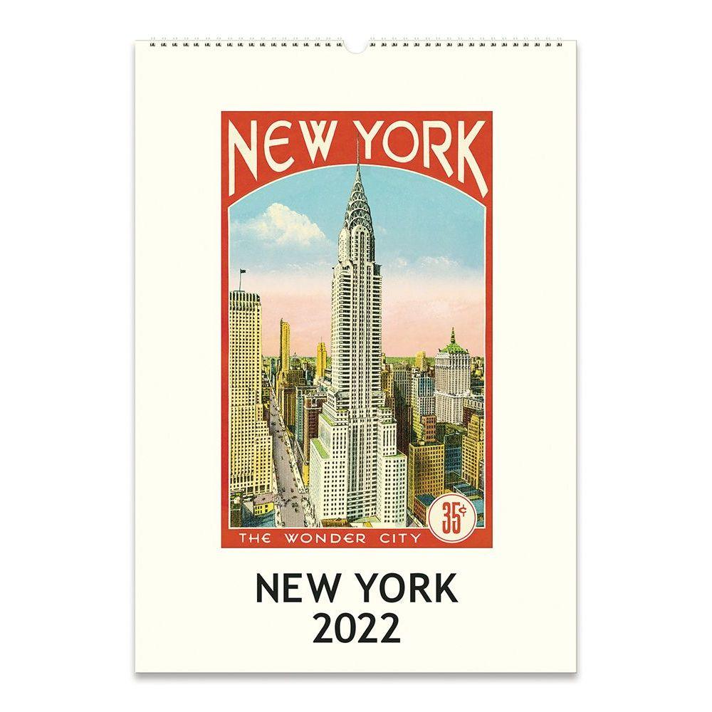 New York 2022 Poster Calendar
