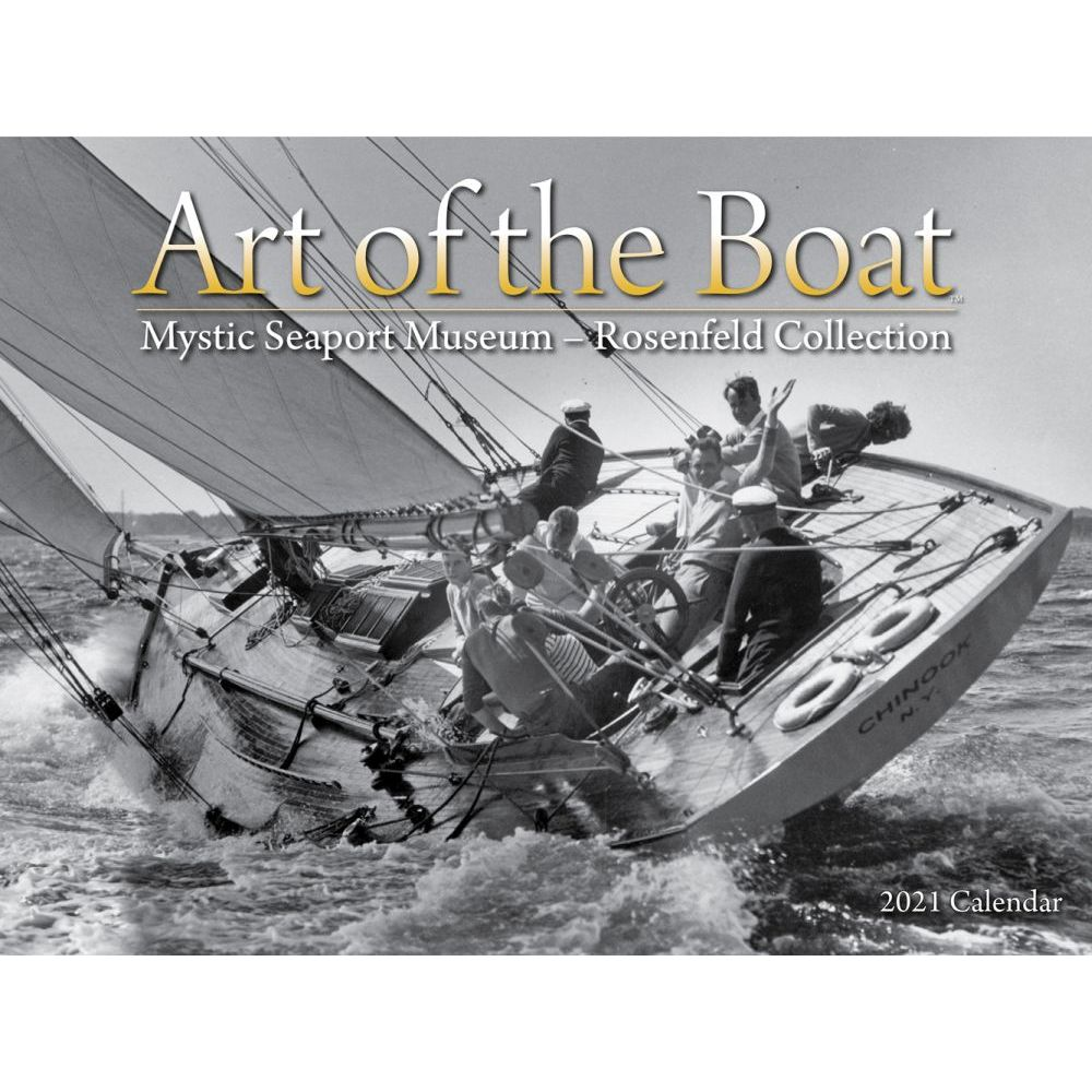 2021 Art of the Boat Wall Calendar