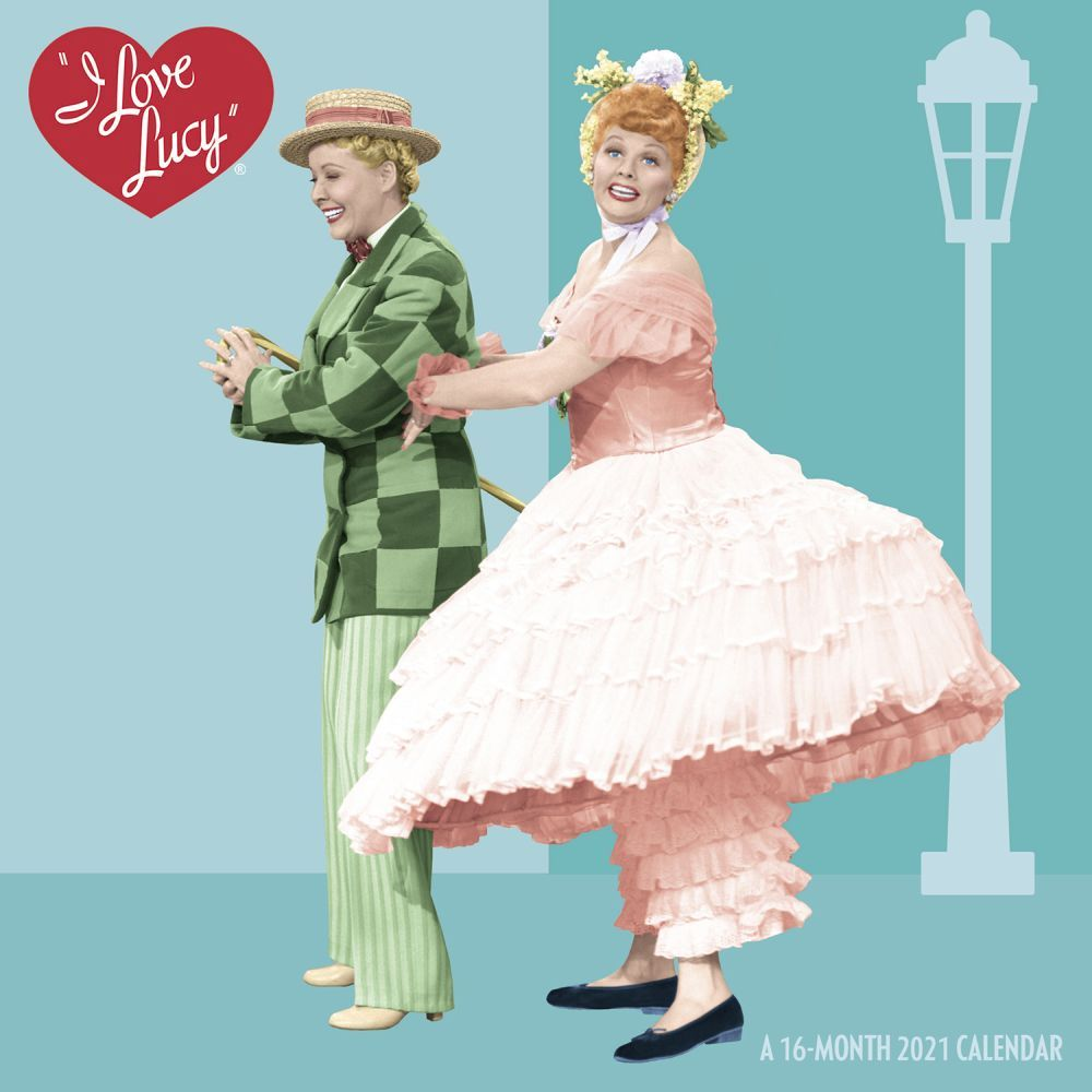 2021 I Love Lucy Mini Wall Calendar