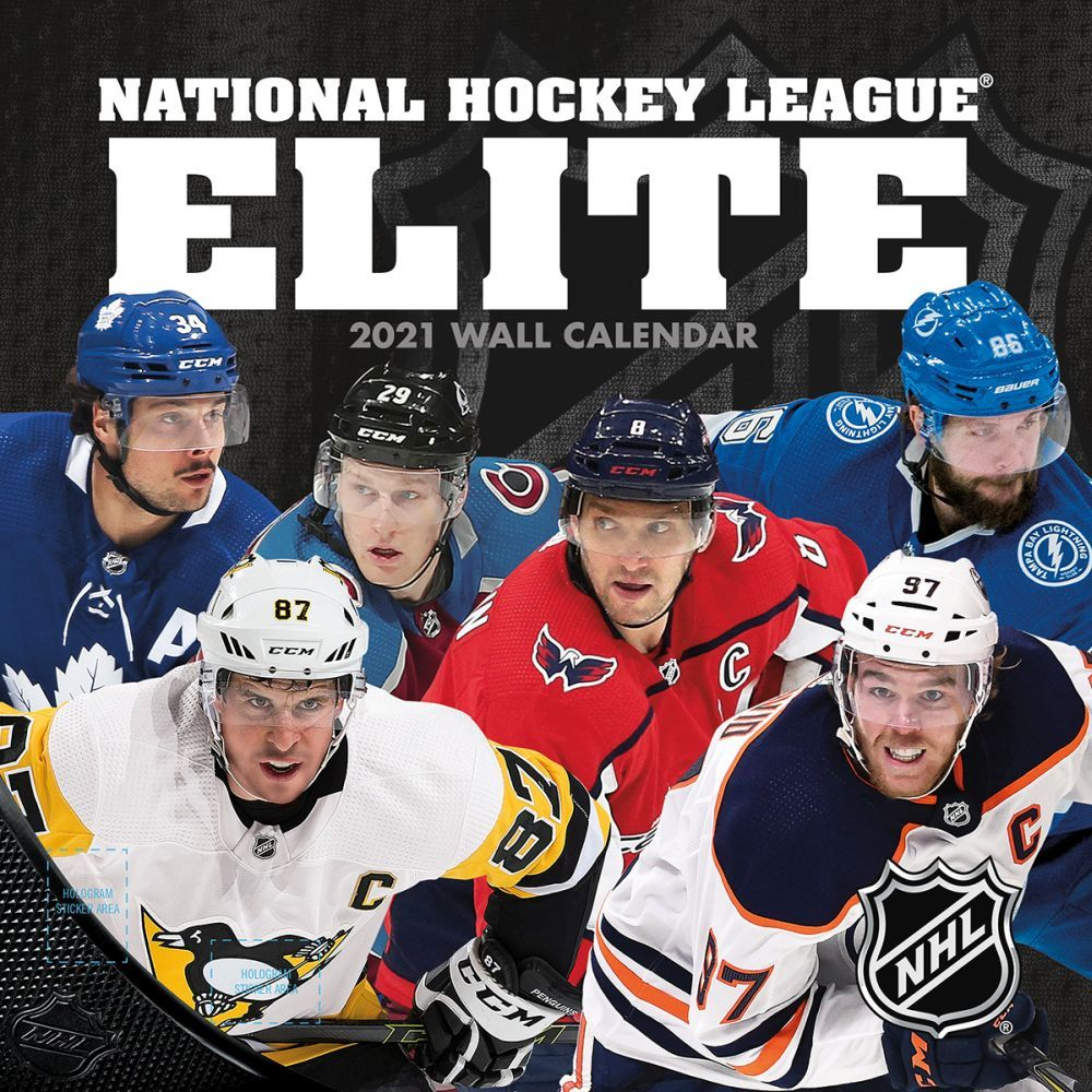 2021 NHL All Stars Wall Calendar