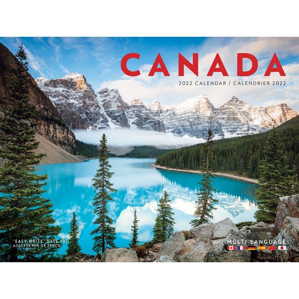 Canada National Geographic 2022 Wall Calendar