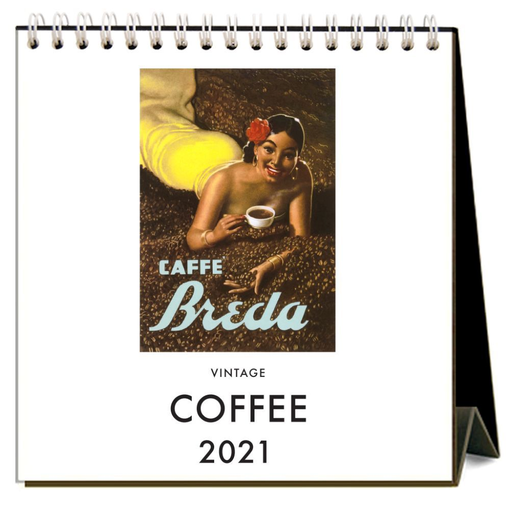 2021 Coffee Easel Calendar