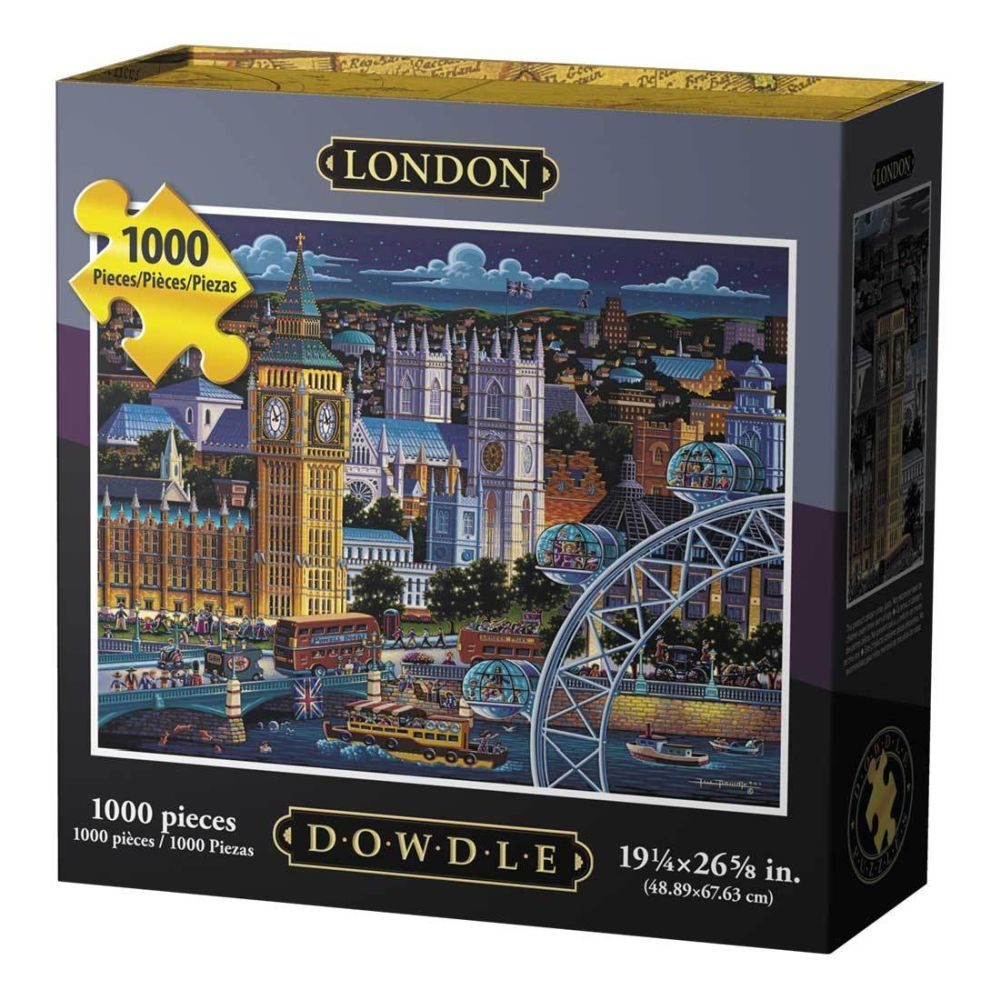 Best London 1000pc Puzzle You Can Buy