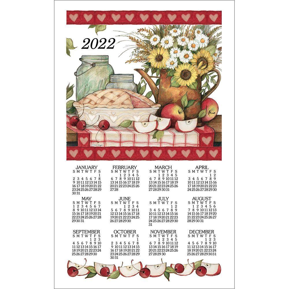 Apple Pie 2022 Kitchen Towel Calendar