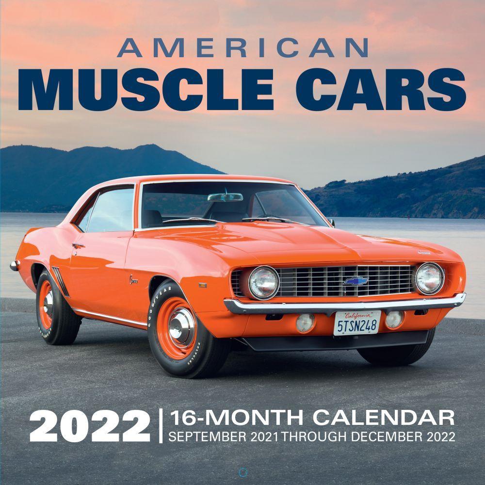 American Muscle Car 2022 Wall Calendar