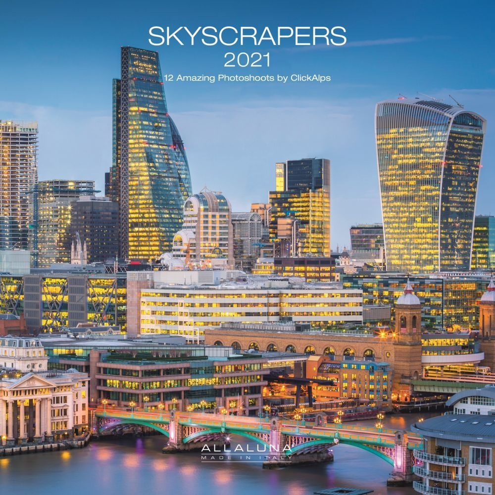 Skyscrapers 2021 Wall Calendar