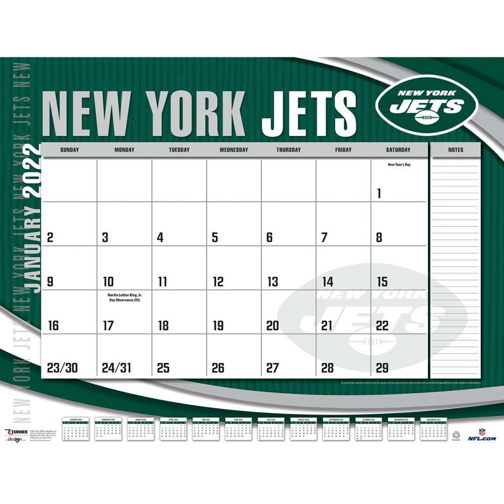 New York Jets 2022 Desk Pad