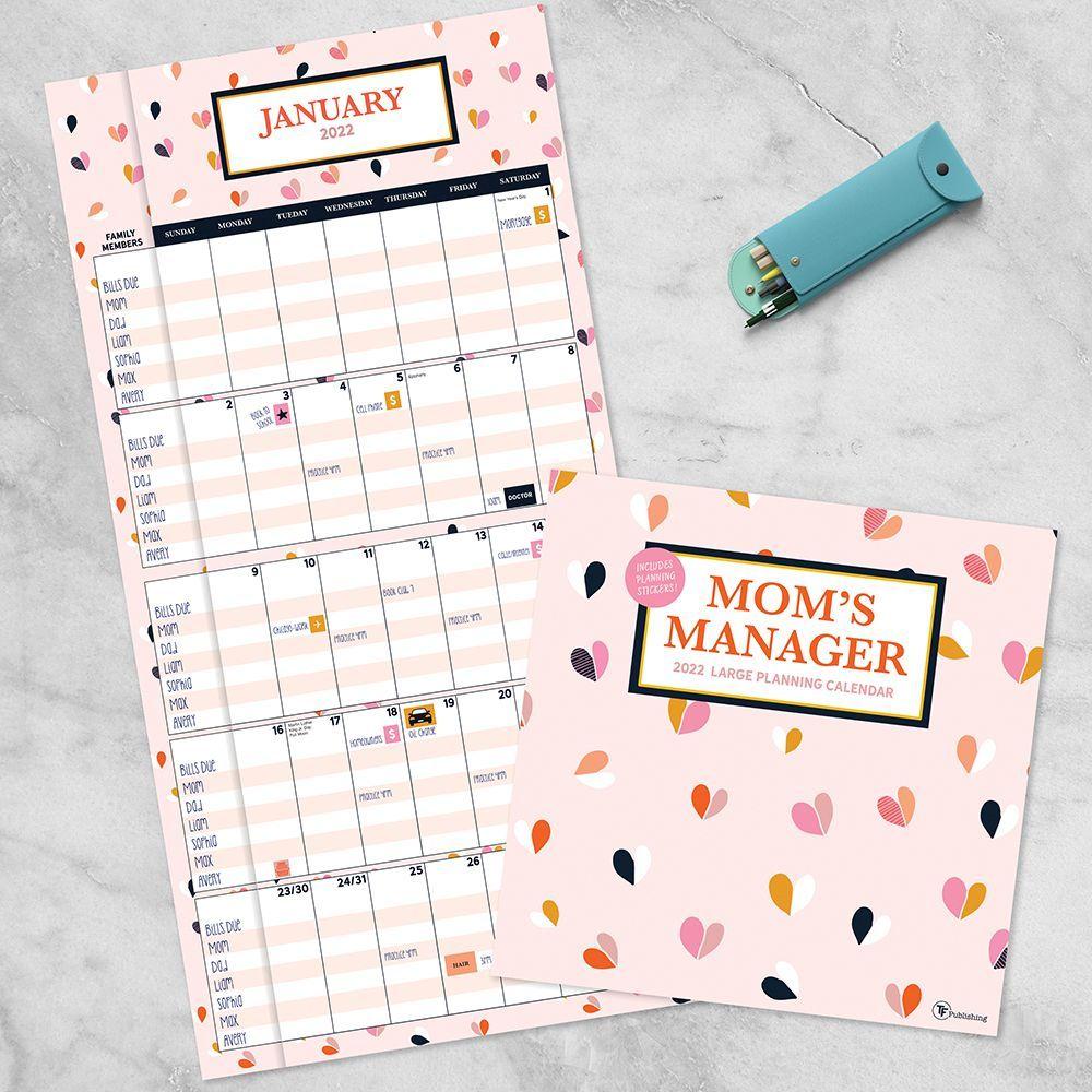 Moms Manager 2022 Wall Calendar