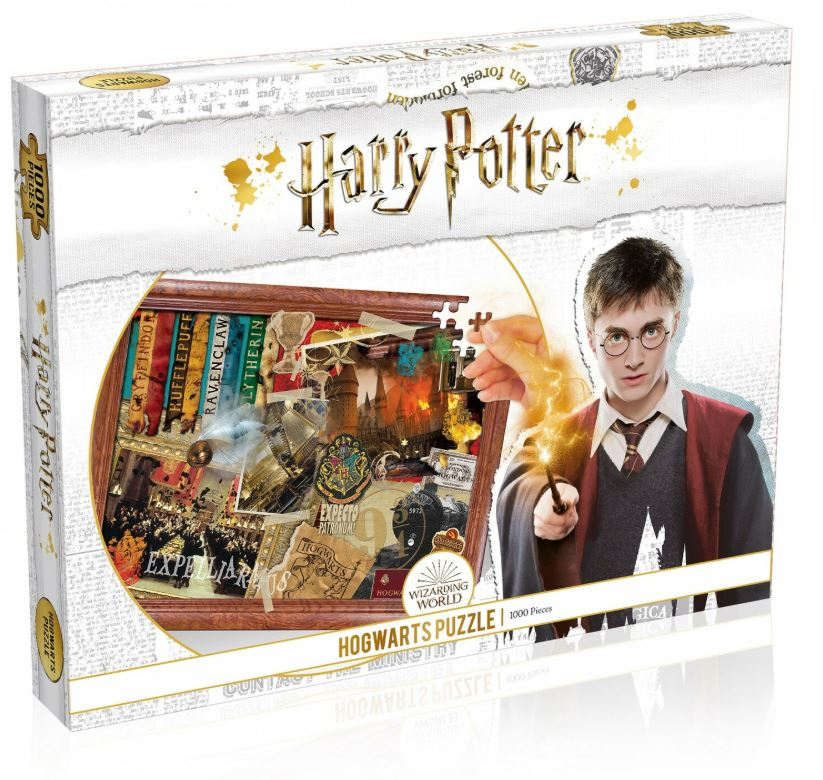 Best Harry Potter Hogwarts 1000pc Puzzle 2 You Can Buy