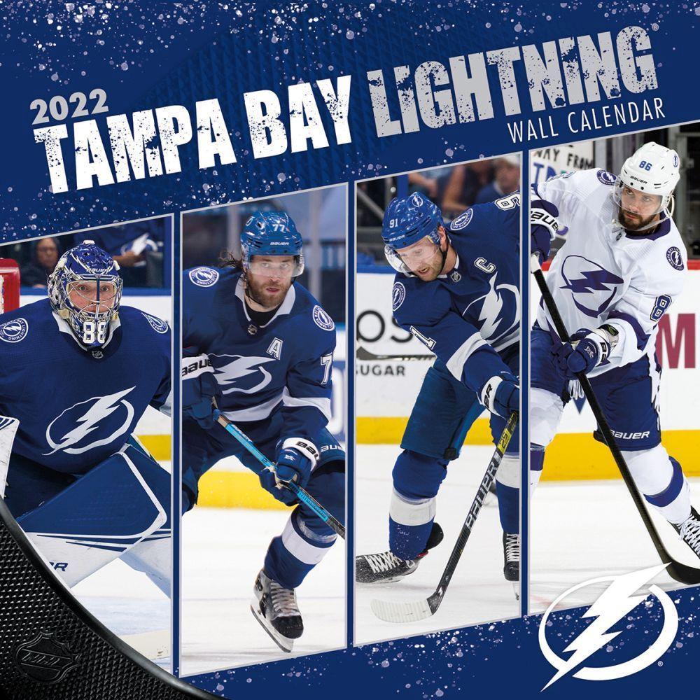 Tampa Bay Lightning 2022 Wall Calendar