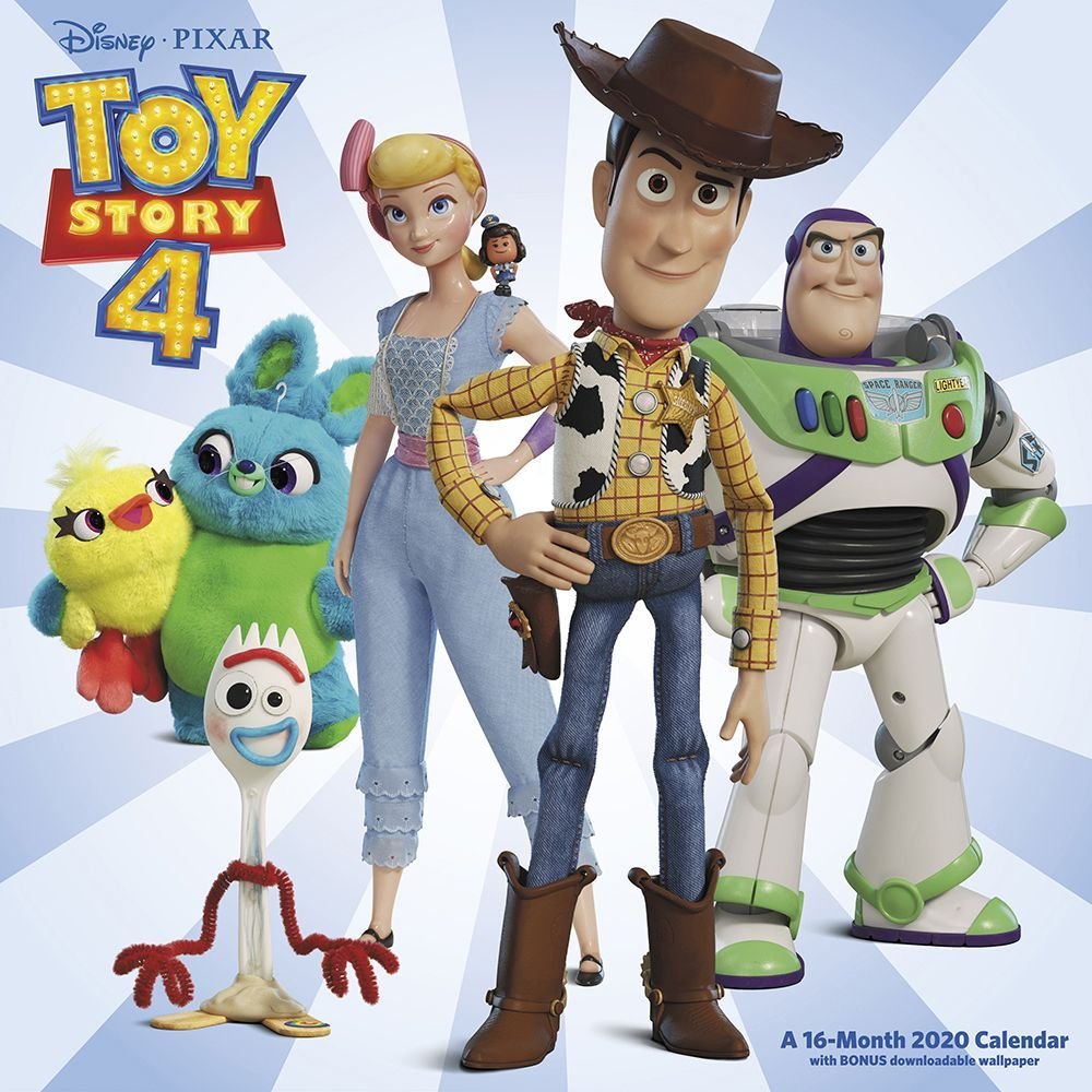 Toy Story 4 Wall Calendar