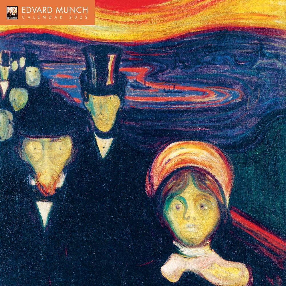 Edvard Munch 2022 Wall Calendar