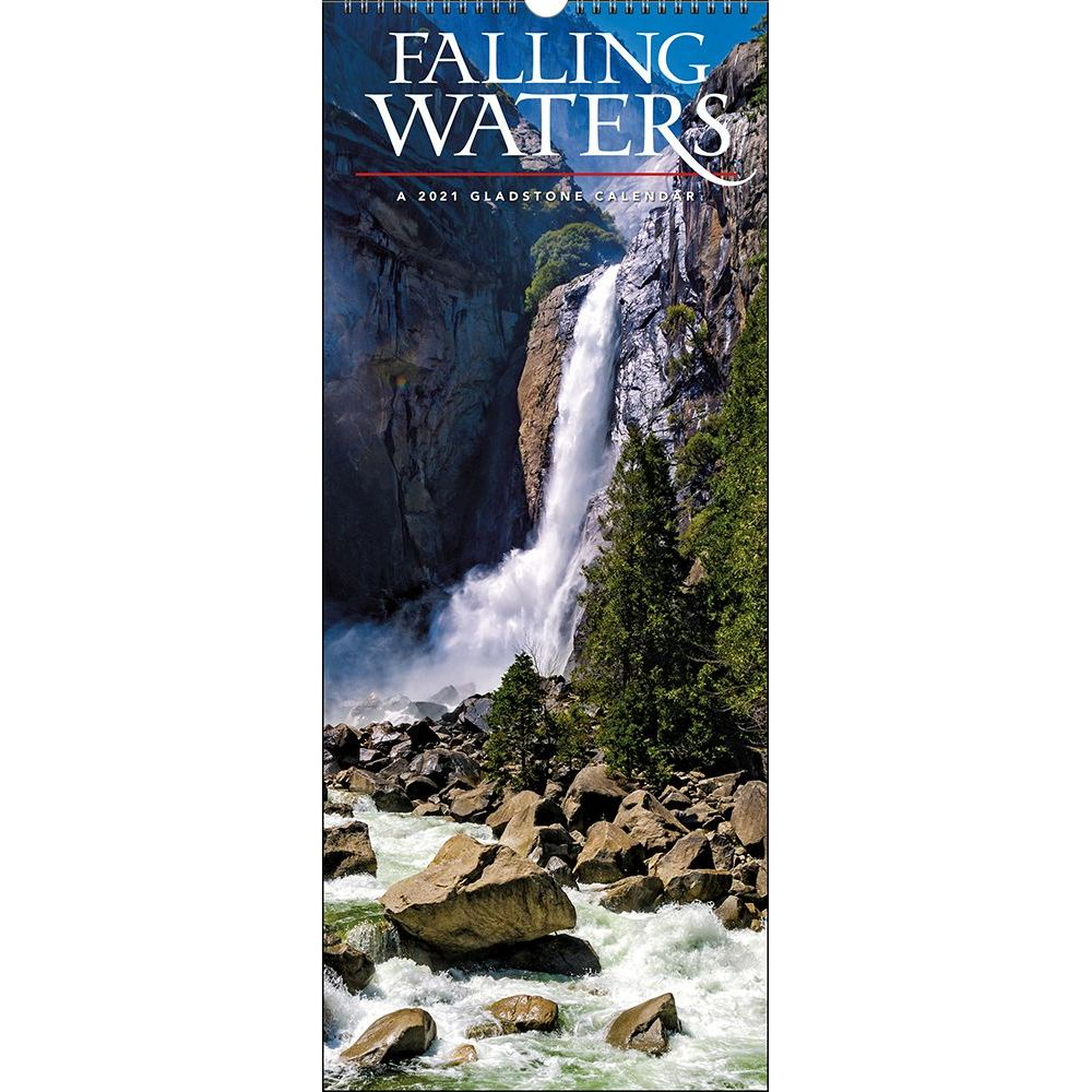 2021 Falling Waters Wall Calendar