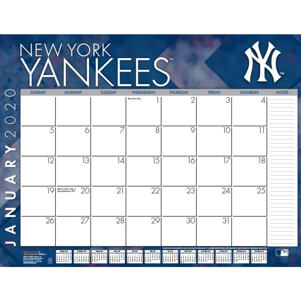 New York Yankees 2021 Desk Pad