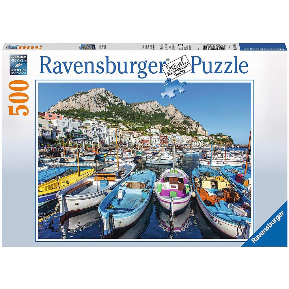 Best Colorful Marina 500 Piece Puzzle You Can Buy