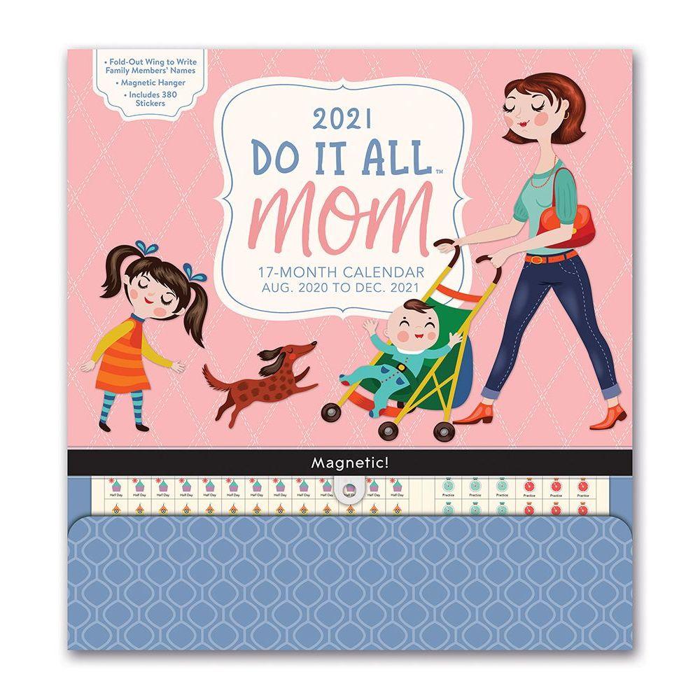 2021 Mom Do It All Wall Calendar