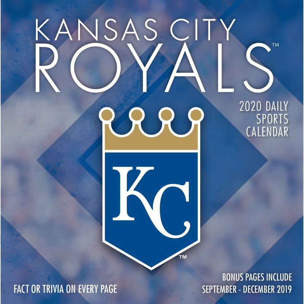 Kansas City Royals 2021 Desk Calendar