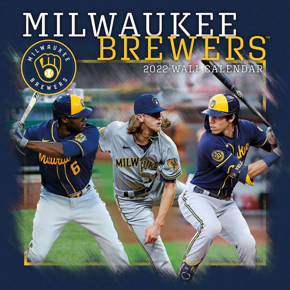 Milwaukee Brewers 2022 Wall Calendar
