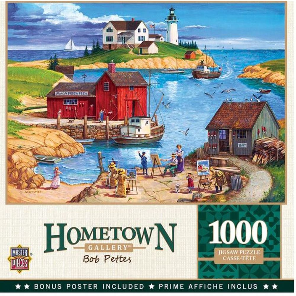 Best Hometown Ladium Bay 1000pc Puzzle You Can Buy