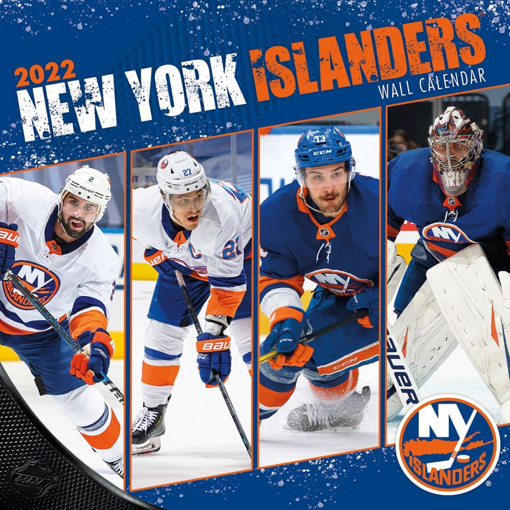 New York Islanders 2022 Wall Calendar