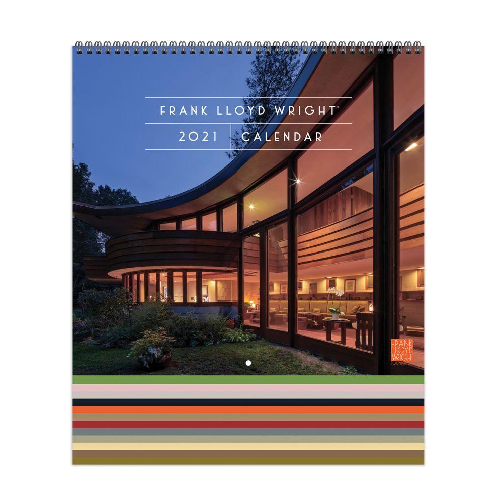 2021 Frank Lloyd Wright Wall Calendar