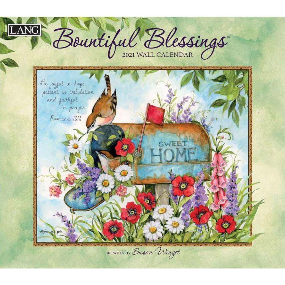 2021 Bountiful Blessings Wall Calendar by Susan Winget