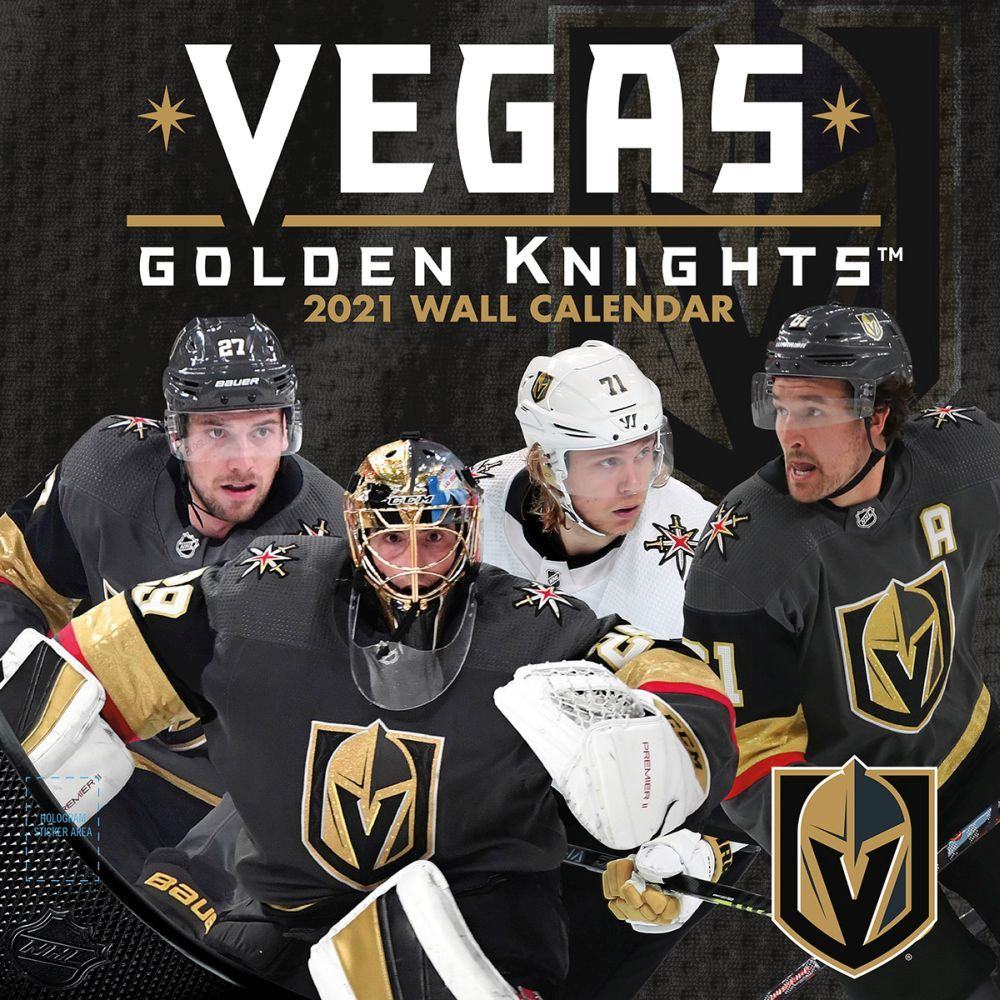 2021 Vegas Golden Knights Team Wall Calendar
