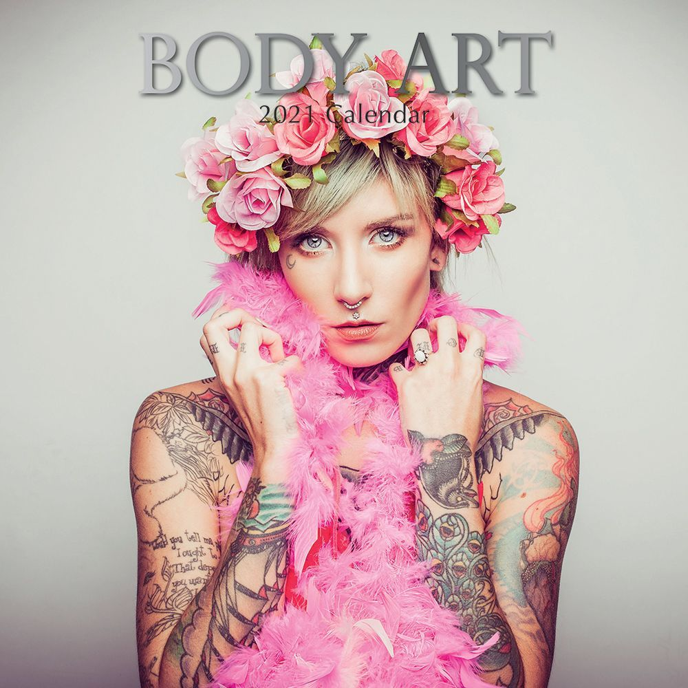 2021 Body Art Wall Calendar