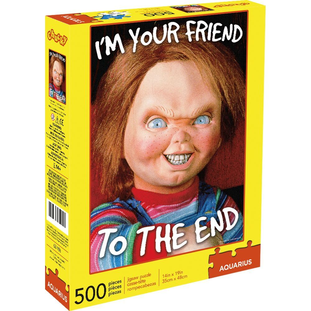 Best Chucky 500pc Puzzle You Can Buy
