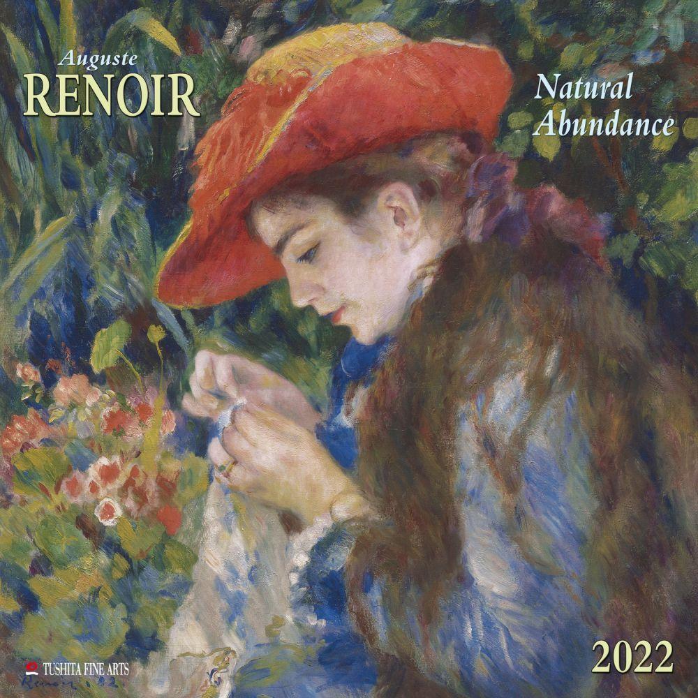 Pierre Auguste Renoir 2022 Wall Calendar