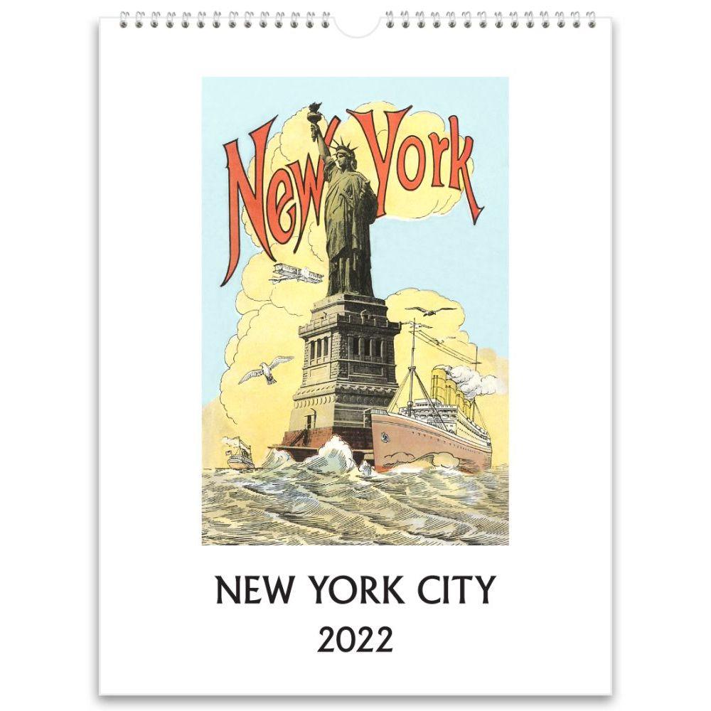 New York City Nostalgic 2022 Wall Calendar