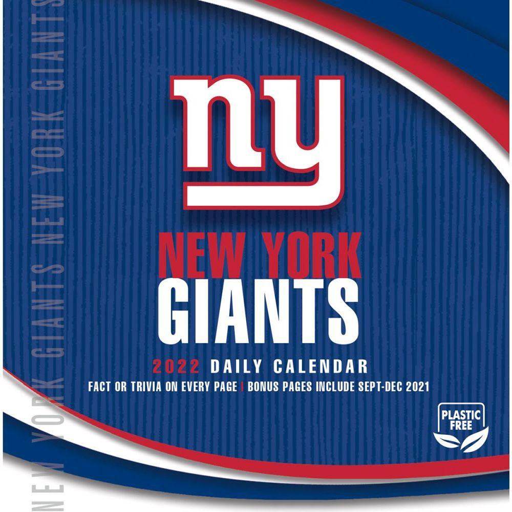 New York Giants 2022 Desk Calendar